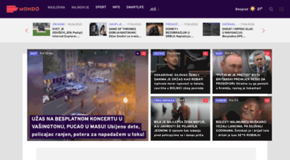 mondo.rs - najnovije vesti iz srbije i sveta  mondo portal