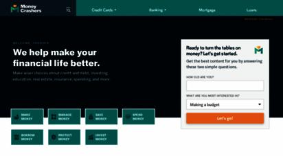 moneycrashers.com - money crashers - personal finance blog & guide to financial fitness