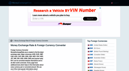 moneyexchangerate.org - today money exchange rate & foreign currency er