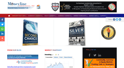 moneyline.co.in - mcx trading tips, commodity trading, gold silver trading tips, crude oil trading, copper prices, stock market tips, bse nse - moneyline