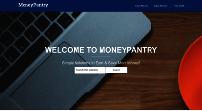 moneypantry.com - personal finance blog: moneypantry