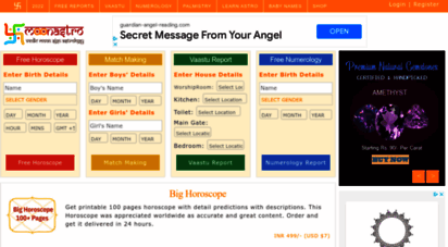 moonastro.com - indian astrology  free horoscopes  daily horoscope  monthly horoscope  vaastu  gemstones  baby names