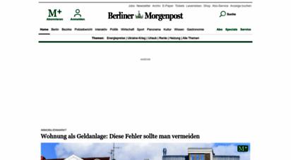 morgenpost.de - aktuelle nachrichten aus berlin und der welt - berliner morgenpost