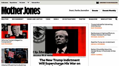 motherjones.com - mother jones - smart, fearless journalism
