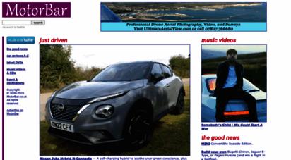 motorbar.co.uk - motorbar - expert reviews: new cars, cds, dvds and travel