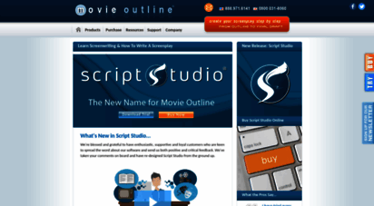 movieoutline.com - learn screenwriting & how to write a script with movie outline screenplay writing software