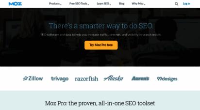 moz.com - moz - seo software for smarter marketing