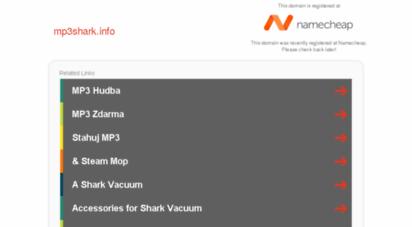 Welcome to Mp3shark info - Mp3shark info - Registered at Namecheap com