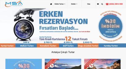 msatour.com - antalya çıkışlı turlar msatour - keyifli bir tatil