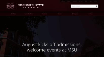 msstate.edu - mississippi state university