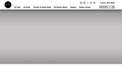 Welcome to Mtibaths com - MTI Baths | Luxury Bathtubs, Counter-Sinks