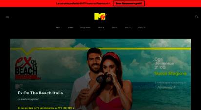 mtv.it - la musica, i video, le news, le classifiche musicali e i programmi  mtv italia