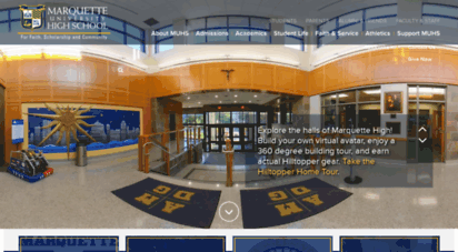 muhs.edu - marquette university high school: home