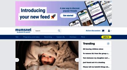 mumsnet.com - mumsnet  the uk´s most popular website for parents