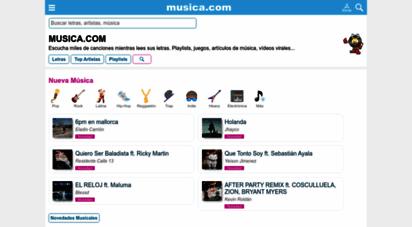 musica.com - música y letras  musica.com