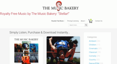 musicbakery.com - royalty free music by the music bakery: real instruments!