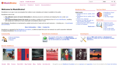 musicbrainz.org - musicbrainz - the open music encyclopedia