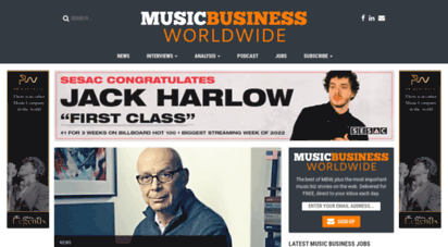 musicbusinessworldwide.com - music business worldwide - news, jobs and anlysis for the global music industry