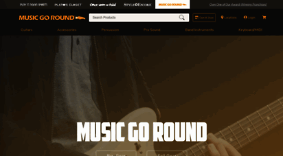 musicgoround.com - used guitars, used drums, used amps, used cymbals  music go round