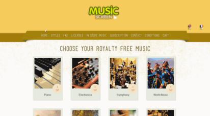 musicscreen.org - 403 forbidden