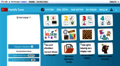 mustafa-turan.com - mustafa turan - ilkokul öğrenci ve öğretmenleri için ders etkinlikleri, materyaller ve gerekli belgeler