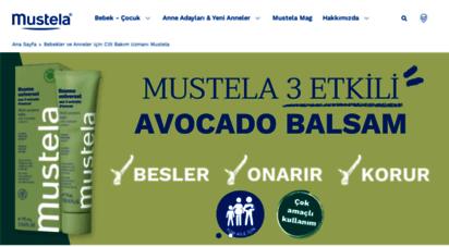 mustela.com.tr - mustela bebek: yeni doğanlar ve bebekler için geliştirilmiş cilt bakım ürünleri