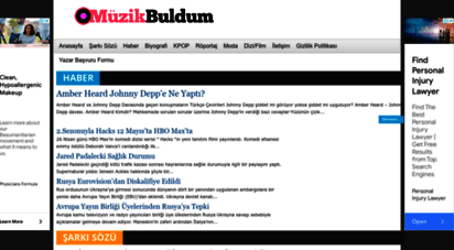 muzikbuldum.com - muzikbuldum • yabancı şarkı şözleri ve türkçe çevirileri