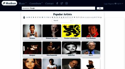 muzikum.eu - muzikum - lyrics & music community