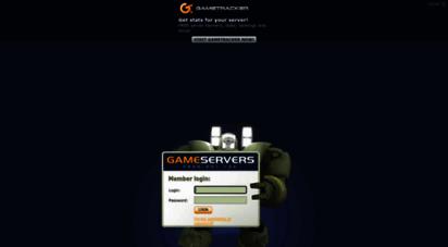 Welcome to My gameservers com - Game Servers: Members Area