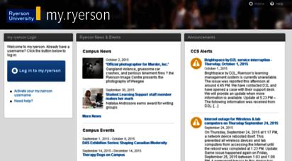 my.ryerson.ca -