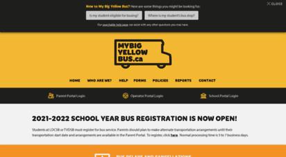 mybigyellowbus.ca - southwestern ontario student transportation services
