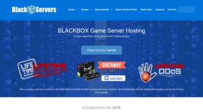 myblackboxhosting.com - myblackboxhosting.com professional game server hosting