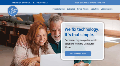mycomputerworks.com - computer help desk  how to fix your computer  computer help site  my computer works