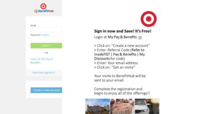 Target Benefit Hub >> Welcome To Mydiscounts Benefithub Com Target Employee