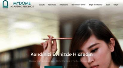 mydome.com.tr - mydome- kız öğrenci yurdu istanbul- sarıyer kız yurtları