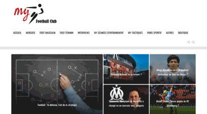 myfootballclub.fr - my football club - actualité football, ligue 1, foot féminin, amateur