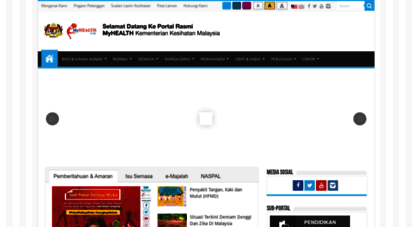 myhealth.gov.my - portal myhealth - kementerian kesihatan malaysia
