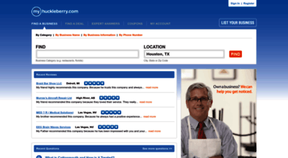 myhuckleberry.com - myhuckleberry.com - business listings, coupons, reviews and expert answers.