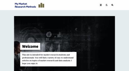 mymarketresearchmethods.com - my market research methods  your hub for market research lessons and resources