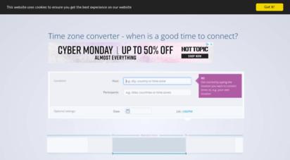 mymeetingtime.com - super simple time zone er