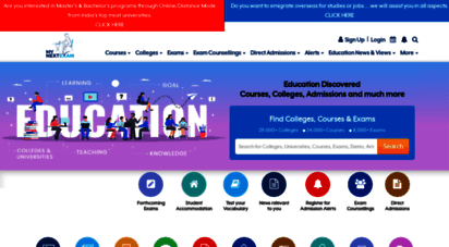mynextexam.com - colleges, universities, courses, admission, entrance exams in india
