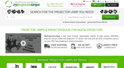 myprojectorlamps.com