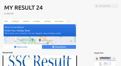 myresult24.com - my result 24