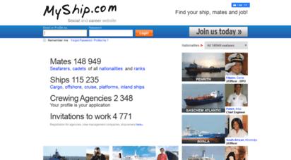 myship.com - myship.com — mates, ships, agencies — all nationalities and ranks