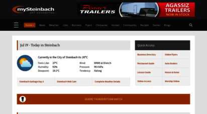 mysteinbach.ca - mysteinbach.ca - steinbach manitoba online community