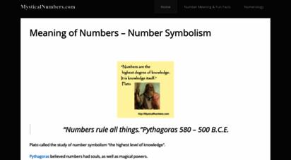 mysticalnumbers.com