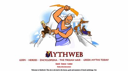 mythweb.com - greek mythology
