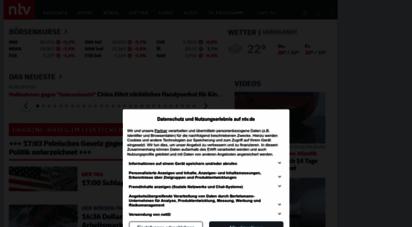 n-tv.de - nachrichten, aktuelle schlagzeilen und videos - n-tv.de