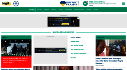 naija.ng - latest nigeria news from the most trusted publisher legit.ng