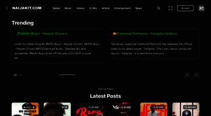 naijakit.com - naijakit  no.1 most visited for top nigerian music mp3 & entertainment website